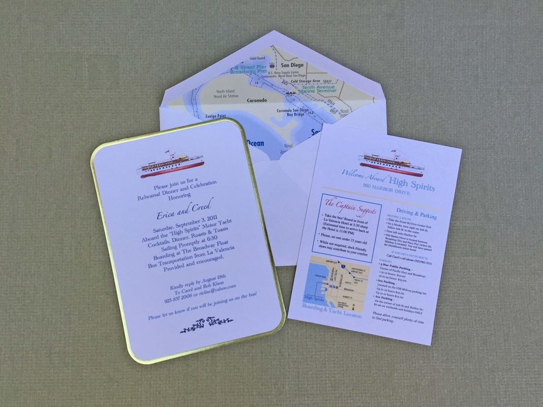rehearsal dinner invitations snail mail forever